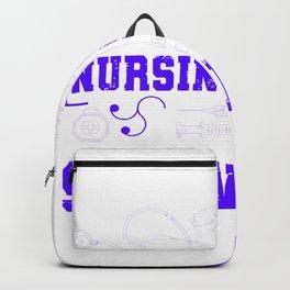 Nursing School Survivor - Nurse Design Backpack