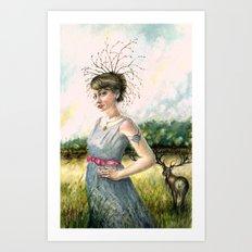 Crown of Fall Art Print