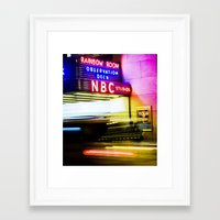 30 rock Framed Art Prints featuring 30 ROCK by grsphoto