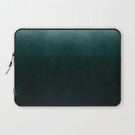 Ombre Emerald Laptop Sleeve