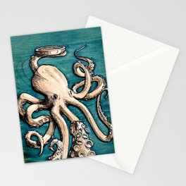 OCTO-PIE Stationery Cards