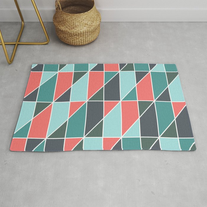 Abstract Geometry 24 Rug