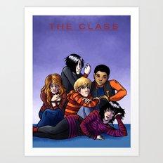 The Class Breakfast Club Art Print
