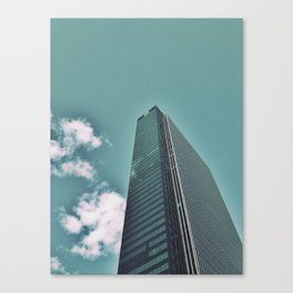 I love this building on so many levels  Canvas Print