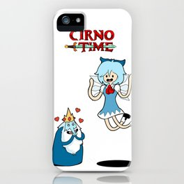 Cirno Time iPhone Case