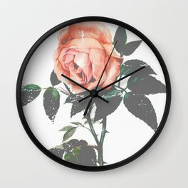 Thorned Rose Wall Clock