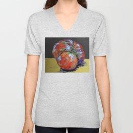 heirloom tomato Unisex V-Neck