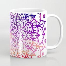 INTENSE SUNSET MANDALA Coffee Mug
