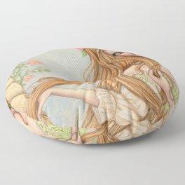 Untangling Floor Pillow