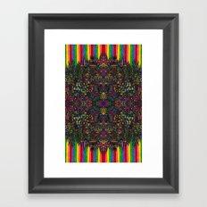 80 Framed Art Print