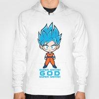 goku Hoodies featuring Goku SSGSS by LoonyLand