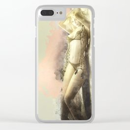 Self Control Clear iPhone Case