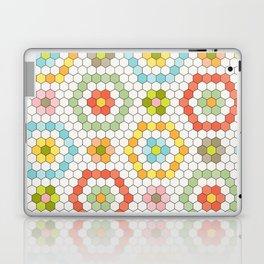 Hexagon Tile Pattern Laptop & iPad Skin