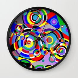 Raindrops by Bruce Gray Wall Clock