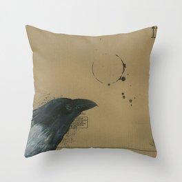 Empty Shell - 3 Throw Pillow