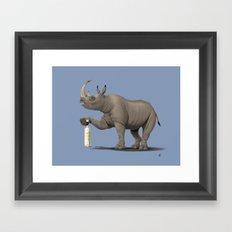 Cork it, Dürer! [HD] (Colour) Framed Art Print