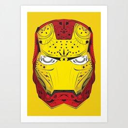 Sugary Iron Man Art Print