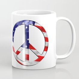 Peace the national flag freedom Coffee Mug