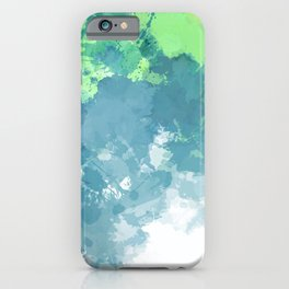 Watercolor Splash Abstract iPhone Case