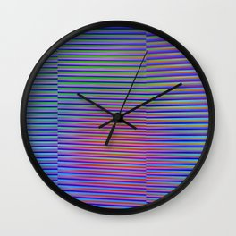 Play with stripes  4 Wall Clock