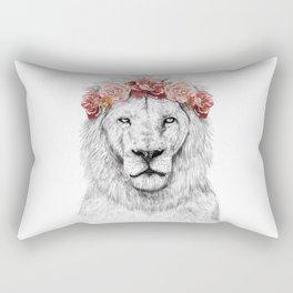 Festival lion Rectangular Pillow