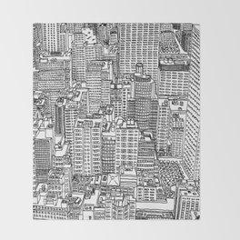 New York View 3 Throw Blanket