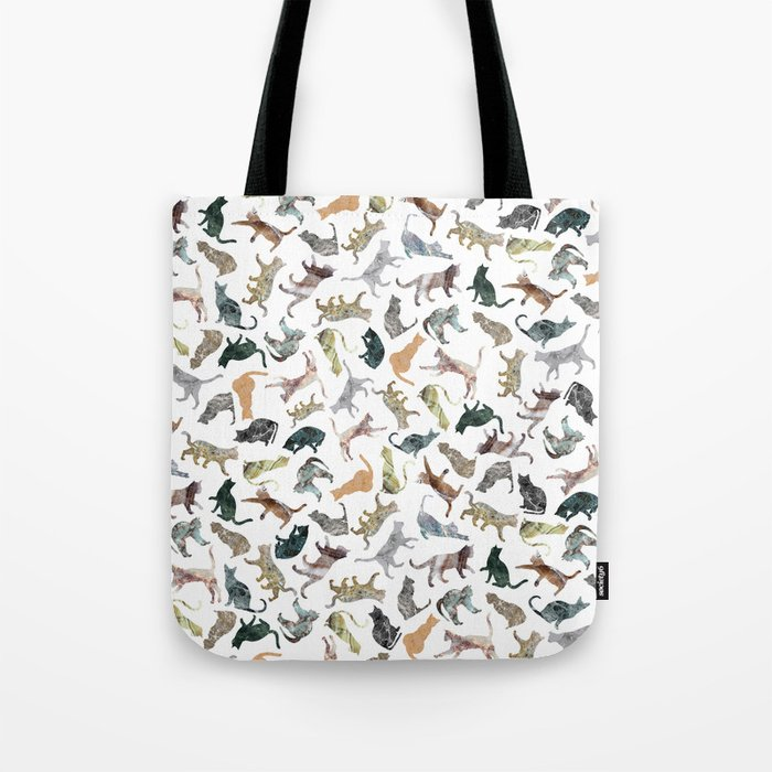 Nature Cats Tote Bag
