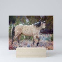 Beautiful Buckskin Mini Art Print