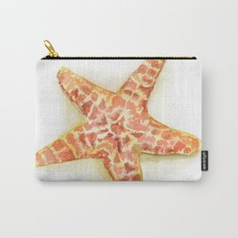 Sea Star Watercolor Carry-All Pouch