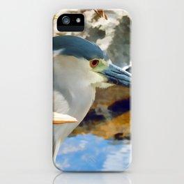 Blue Herron iPhone Case