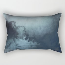 Watercolour Ocean Rectangular Pillow
