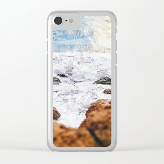Wild Summer #society6 #print #decor #art Clear iPhone Case