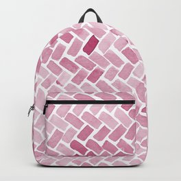 pink pavement Backpack