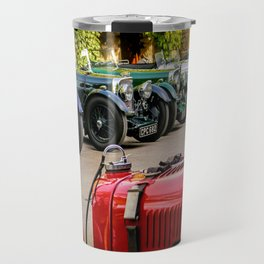 Vintage Aston Martins.  Travel Mug