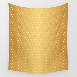 Art Deco, Simple Shapes Pattern 1 [RADIANT GOLD] Wall Tapestry