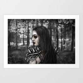 Edge of the Woods Art Print