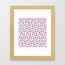 Autochrome Watercolour Pepper Pattern  Framed Art Print