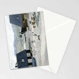 North Fishing Village Stationery Cards