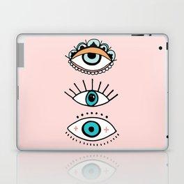 eye illustration print Laptop & iPad Skin