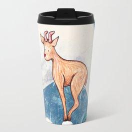 Winter Goat Travel Mug