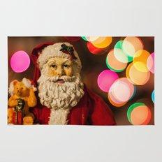 Santa Bokeh Rug