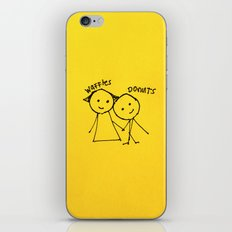 Bestfriends iPhone & iPod Skin