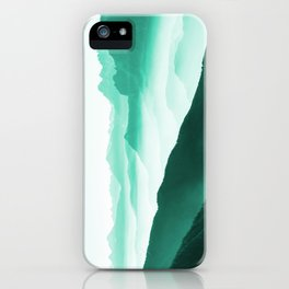 Creamy Mountains iPhone Case