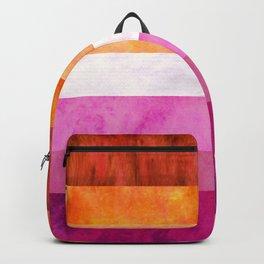 Lesbian Pride Quilt Backpack