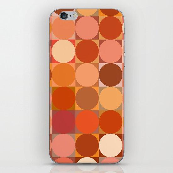 Arancione iPhone & iPod Skin
