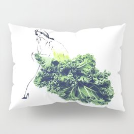 Edible Ensembles: Kale Pillow Sham