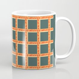 Orange Net Coffee Mug