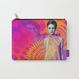 Supermodel Twiggy 1 - Supermodels of the Sixties Series Carry-All Pouch