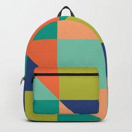 Krista Retro Tile Backpack