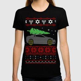 Car Ugly Christmas Gifts T-shirt